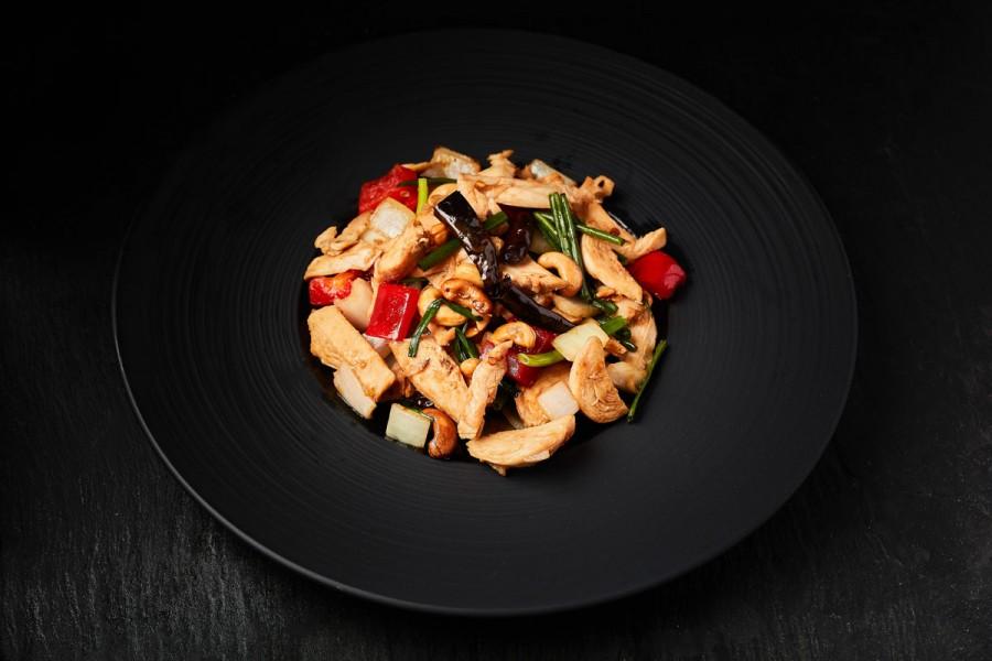 61.Goong thot (deep fried tiger prawns)